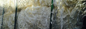 Bales Of White Paper